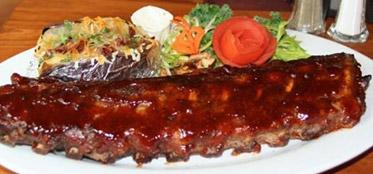 famous BBQ ribs