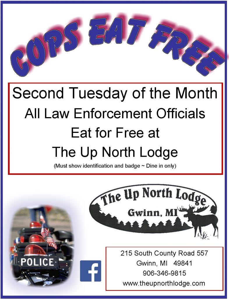 Cops Eat Free